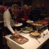 Het buffet viel goed in de smaak!